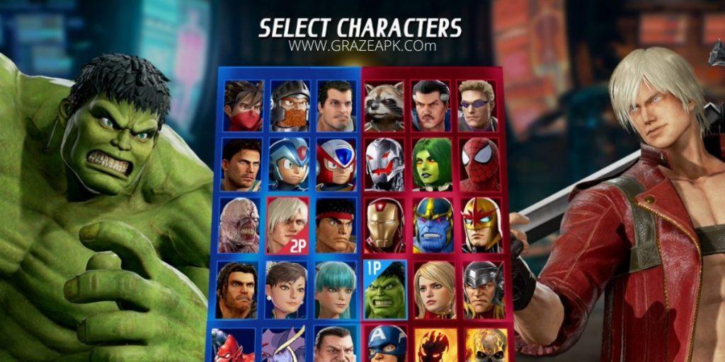 Marvel vs Capcom APK Download